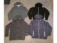 Boys hoodies x3 & boys Jacket x1 bundle - age 11 - 12 - Uplift East Kilbride