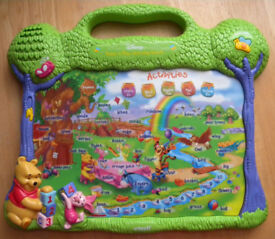 VTech Winnie the Pooh - Press 'n Play Learning Board - used