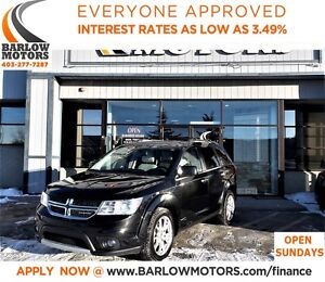 2012 Dodge Journey R/T*EVERYONE APPROVED* APPLY NOW DRIVE NOW.
