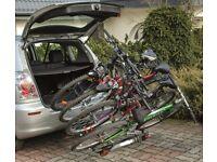 New Bike Carrier / Cycle Rack for 4 bikes w. Tilting - on towbar, tow ball platform bike carrier