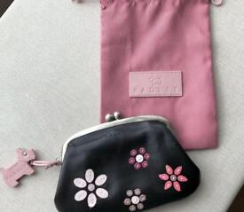 Radley clasp purse in black