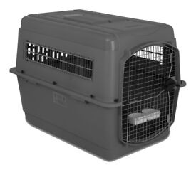 Petmate No. 5 Airline Cargo Sky Travel Dog Kennel / Crate (Extra Large: up to 90Ibs). IATA Approved