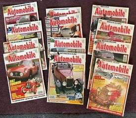 The Automobile magazine in bundled years