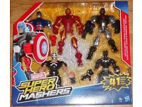 BRAND NEW IN BOX, MARVEL SUPER HERO MASHERS, 5 PACK