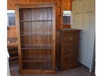 ABINGTON PINE Medium Bookcase
