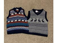 Boys Christmas jumpers aged 12-18months