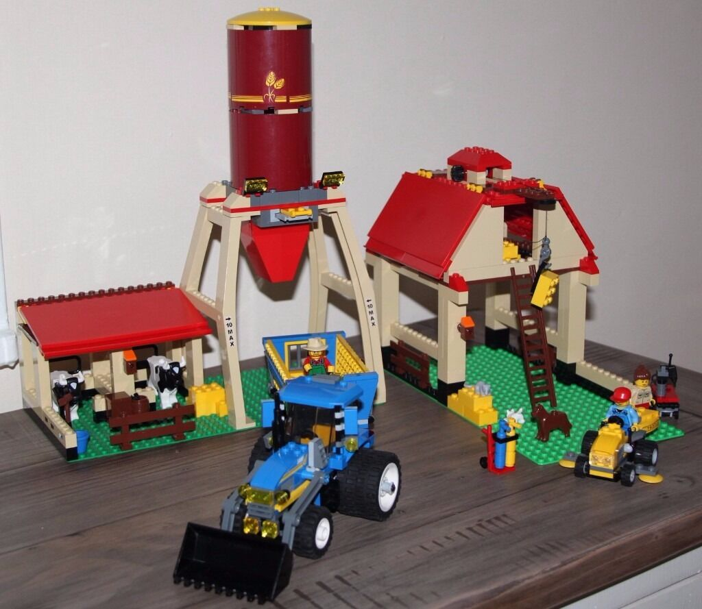 Lego City Farm 7637 Complete With Instructions In Plymouth Devon