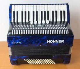 Hohner Bravo 72 bass 3 voice used