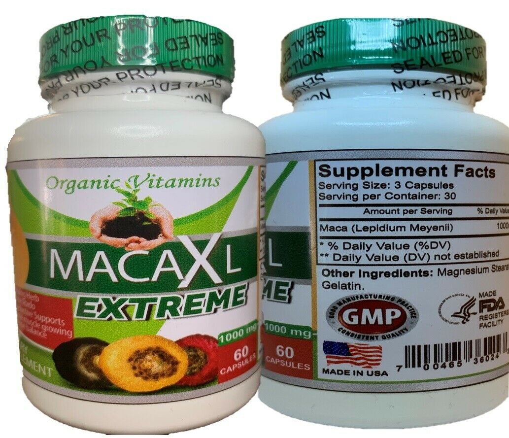 MACA ROOT 1000 MG MALE ENHANCER POTENCY SEXUAL ENHANCEMENT POWER ENERGY PILLS  2