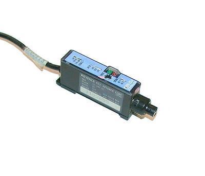 Keyence Fiber Optic Amplifier Sensor 12-24 Vdc Model Fs2-60p 6 Available