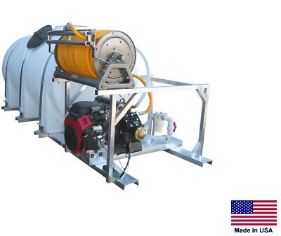 Sprayer Commercial - Skid Mounted - 35 Gpm - 700 Psi - 20 Hp - 735 Gallon Tank