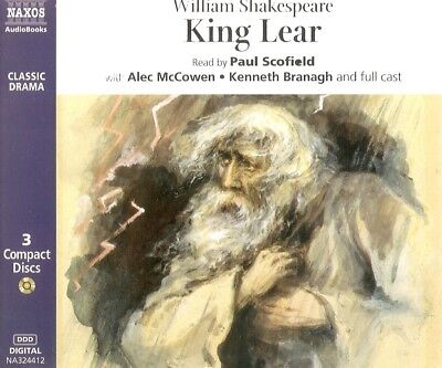 William Shakespeare - King Lear (3xCD A/Book 2002) Full Cast Drama