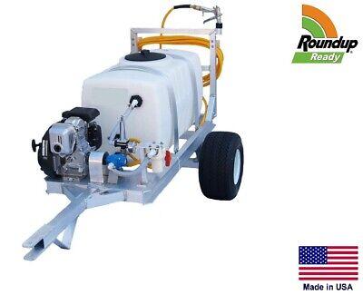 Sprayer Commercial - 2 Wheel Trailer - 7 Gpm - 50 Gallon Tank - Roundup Ready