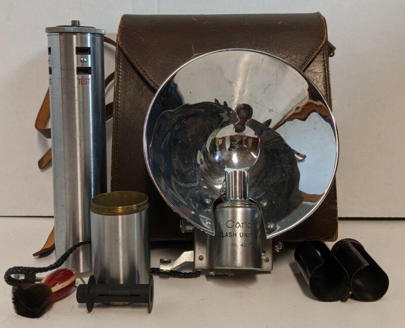 Vintage Canon Camera Flash Unit B-II 2 For Rangefinder Cameras No. 4347