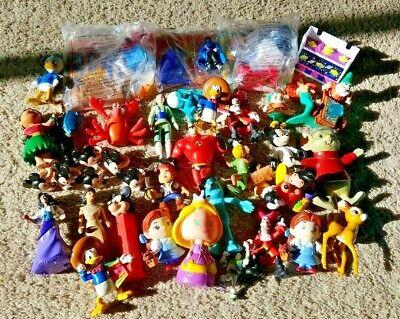 Huge Lot of Disney Action Figures Toys Figurines: Mickey Mouse, Pixar, Aladdin