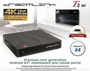 ★DREAMLINK T2W HDR 4K ★ ANDROID 7.1 TV BOX ★IPTV ★