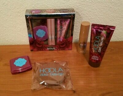 Benefit Hoola Gift Set Travel Size Dew the Hoola/Hoola/Hoola Zero Tanlines ~NEW~