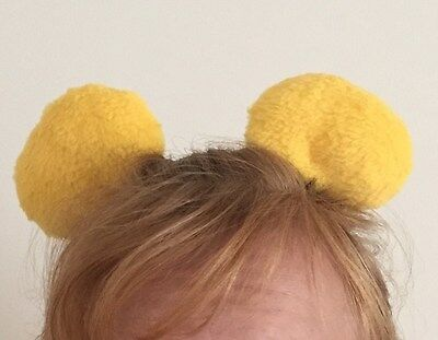 Bear Clip-on Ears Inspired by Winnie the Pooh, Costume, Halloween, Cosplay (Winnie The Pooh Halloween Costume Ears)