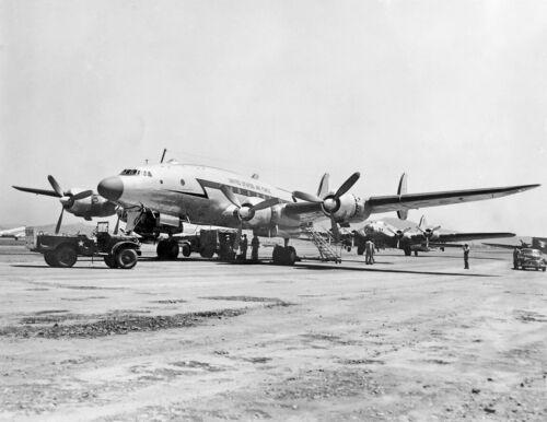 "USAF Lockheed Constellation (C-69) ((8.5""x11"")) Print"