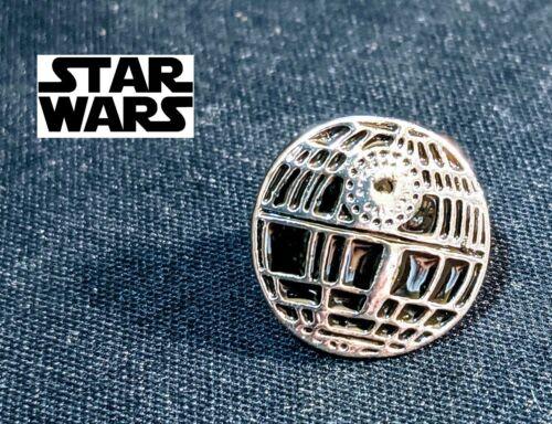 STAR WARS Death Star Logo Metal Pin brooch Deathstar badge darth vader cosplay