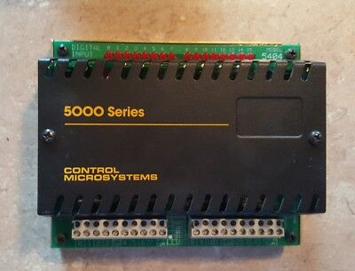 Scadapackcontrol Microsystems 5000 Series 5404 Digital Input