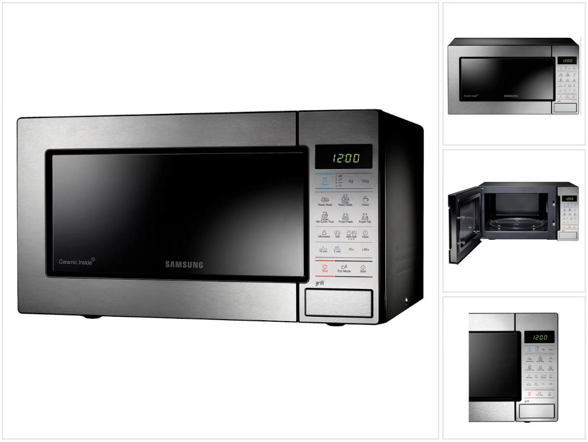 Samsung MS23F300EEW//EG Mikrowelle OVP NEU