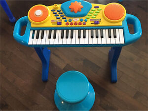 Toddler Size Piano (found missing button).
