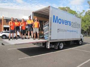 Furniture Removalists - Movers & Trucks Available