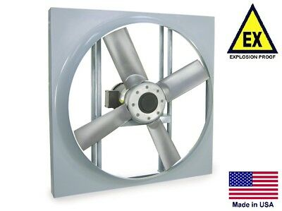 Panel Axial Exhaust Fan - Explosion Proof - 16 - 115230v - 12 Hp - 3610 Cfm