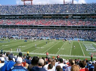 2 Tickets - Houston Texans at Tennessee Titans 12/15/19 Great View!