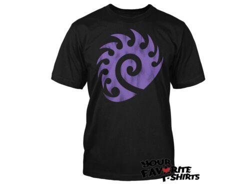 Starcraft Ii 2 Video Game Zerg Vintage Logo Shirt Ebay