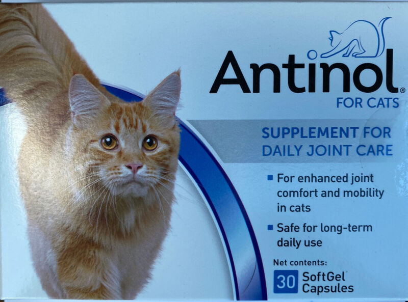 Antinol For Cats (30 Count Softgels)