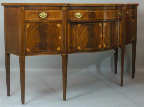 Potthast Brothers Inlaid Federal Mahogany Sideboard Metropolitan Museum Rare