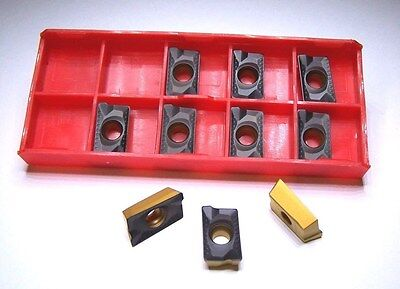 New-apkt1604 Pder Mc-2 Coated -10 Pcs Carbide Insert - Free Shipping