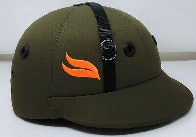 Casablanca Polo Helmet Size: 63 Navy Model: C2 Cloth 3 PR Lock Peak