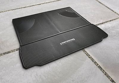 Toyota Sequoia 2008 - 2018 2-Piece All Weather Rubber Cargo Mat Genuine OEM OE 2011 Toyota Sequoia Rubber