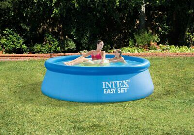 Intex 8ft X 30in Easy Set Above Ground Inflatable Pool w/ Pump*FAST SHIP*28110EH