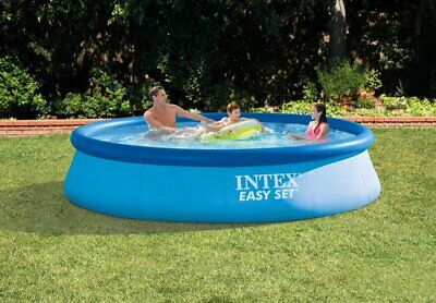 NEW Intex 12ft x 30in Easy Set Above Ground Pool w/ Filter Cartridge Pump