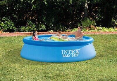 Intex 10ft X 30in Easy Set Above Ground Pool with Filter Pump Brand New