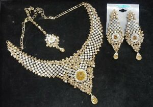 Indian pakistani ladies Bollywood Jewellery necklace choker