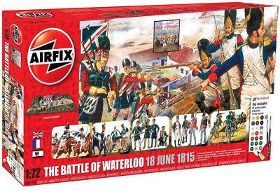 Airfix Battle Of Waterloo 1:72 Plastic Model Diorama Scene A50174
