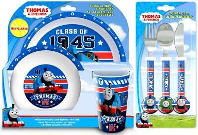 Thomas The Tank Engine 'College' 6-Piece Dinner and Cutlery Set | Thomas Friends
