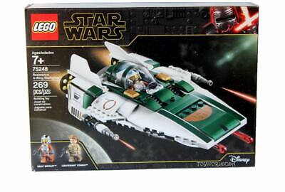 LEGO STAR WARS #75248 Resistance A-Wing Starfighter Building Toy Set