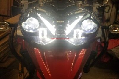 Triumph TIGER  - LED Projection Headlight . (Better than HID) FAST USA SHIPPING!