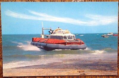 Hovercraft SRN6 1970 Landing Vintage Postcard Photo Precision Ltd