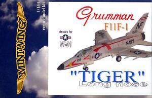 MiniWing Models 1/144 GRUMMAN F11F-1