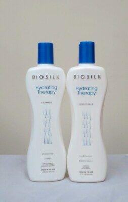 Biosilk Hydrating Therapy Shampoo & Conditioner 12 oz -