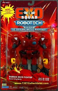 ExoSquad Robotech Bioroid Invid Fighter Army Mecha action figure Playmates MIP