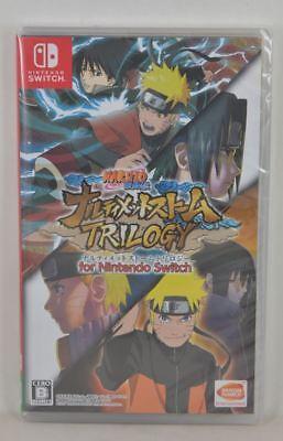 Switch Naruto Shippuden: Ultimate Ninja Storm Trilogy 1 + 2 + 3 (中文/JAPANESE)