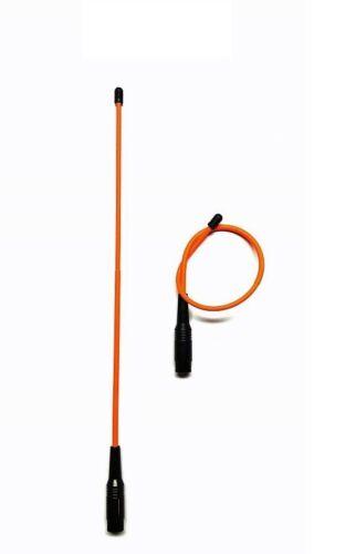 """Flexible Orange 18 """" Long Range Antenna Garmin Astro 220 / 320 /430 - Alpha 100"""